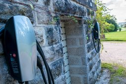 Two Tesla Chargers at the Chateau