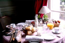 Chateau's Breakfast Table
