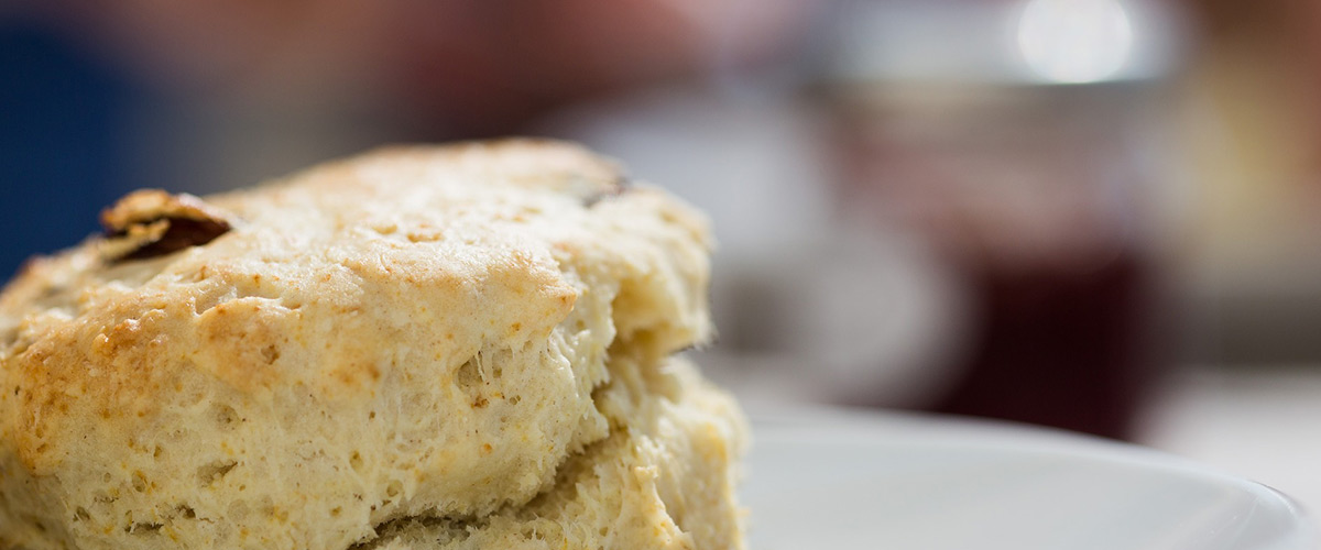 Tea Scones Close-up