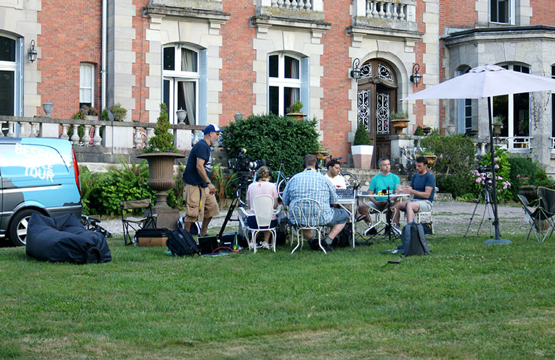 BBC Radio at the Chateau de la Presle